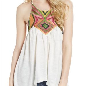 Free People 'beach date' strappy tank